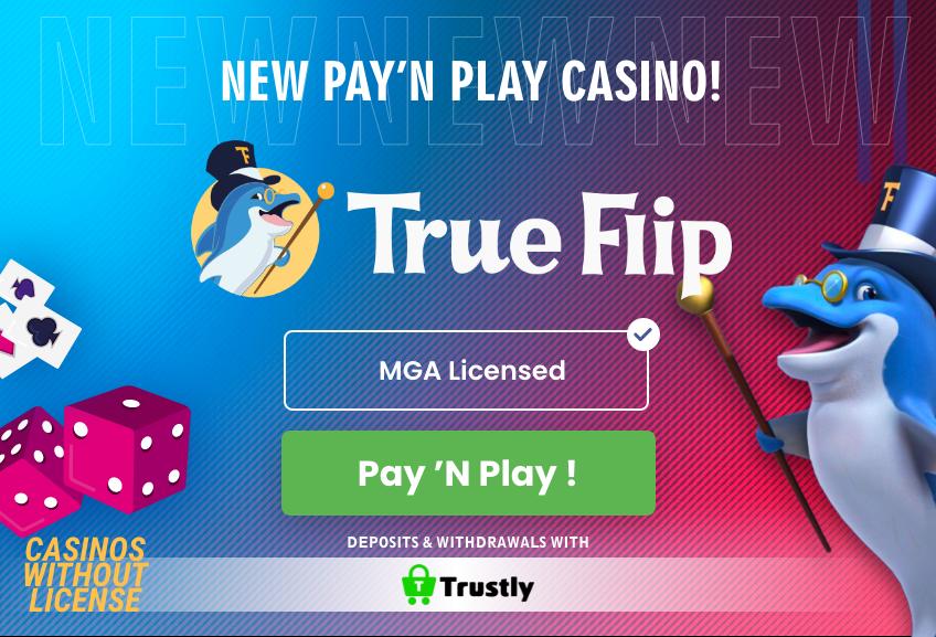 True Flip Casino banner